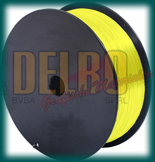 Gelben Heftdraht, Dicke 0,55 mm, Nr. 25, Verfügbar pro Spulen von 2 ...